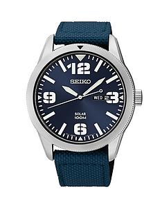 seiko-solar-stainless-steel-case-and-blue-strap-mens-watch