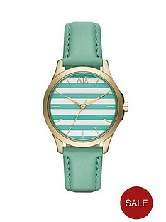 armani-exchange-silvergreen-striped-dial-and-green-leather-strap-ladies-watch