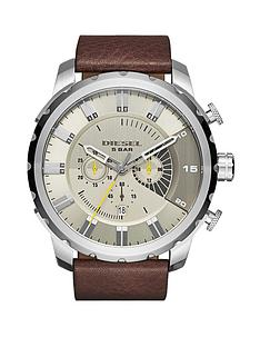 diesel-stronghold-gunmetalgrey-dial-and-stainless-steel-brown-leather-strap-mens-watch