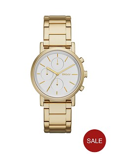 dkny-soho-chronograph-gold-tone-stainless-steel-bracelet-ladies-watch