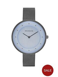 skagen-gitte-grey-mesh-strap-ladies-watch