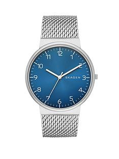 skagen-gents-ancher-blue-dial-mens-watch