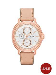 fossil-chelsey-leather-ladies-watch