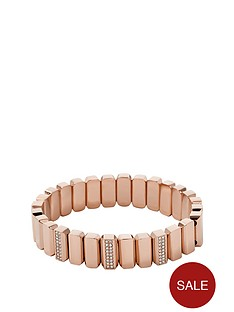 fossil-rose-gold-tone-stretch-bracelet
