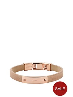 fossil-nude-and-rose-leather-cuff