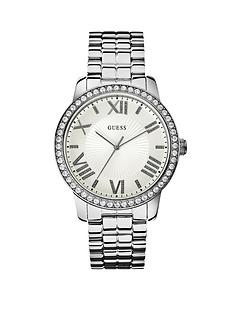 guess-allure-crystal-set-silver-tone-ladies-watch
