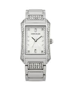 karen-millen-stainless-steel-crystal-set-square-ladies-watch