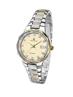 accurist-stone-set-chrome-and-gold-tone-ladies-watch
