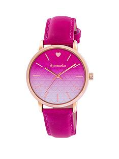 accessorize-pink-dial-rose-coloured-case-pink-strap-ladies-watch