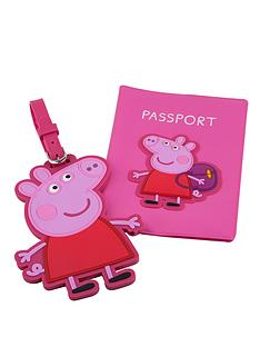 peppa-pig-passport-cover-and-luggage-tag-set