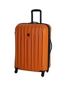 it-luggage-4-wheel-medium-expander-abs-trolley-case-orange