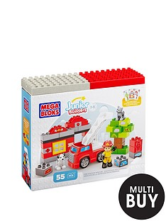 megabloks-junior-builders-fire-station-rescue