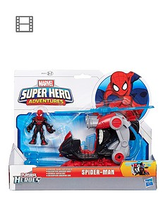 playskool-heroes-marvel-super-hero-adventures-arachno-blade-copter-vehicle-with-big-time-spider-man