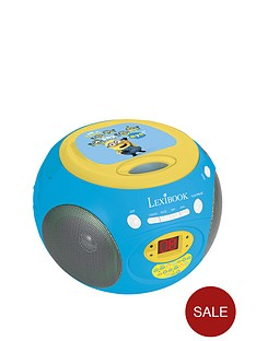 minions-lexibook-radio-cd-player