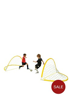 sportspower-twin-flexi-goal-set-with-ball-and-pump