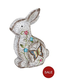 stone-effect-sitting-rabbit-garden-ornament
