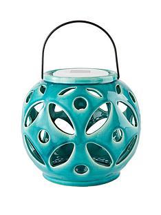 solar-ceramic-lantern-turquoise