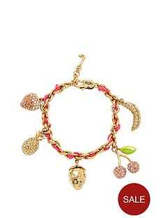 juicy-couture-gold-tone-fruity-charm-bracelet