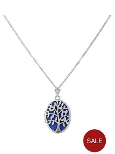 keepsafe-sterling-silver-blue-insert-family-tree-oval-locket