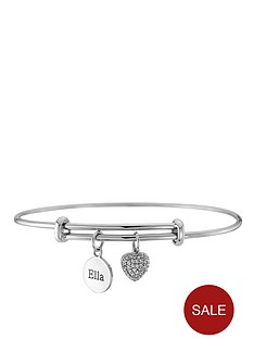 keepsafe-personalised-sterling-silver-cubic-zirconia-heart-and-tag-expandable-bangle
