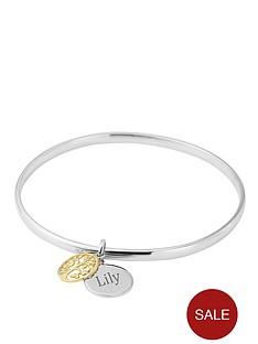keepsafe-personalised-white-bronze-tag-expandable-bangle
