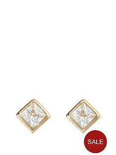 love-gem-9-carat-gold-square-cubic-zirconia-rubover-earrings