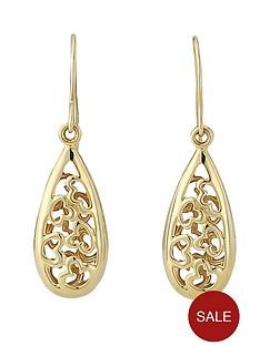 love-gold-9-carat-yellow-gold-filigree-dropper-earrings