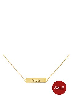 love-gold-keepsafe-personalised-9-carat-gold-tag-pendant
