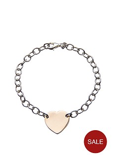 love-silver-sterling-silver-with-rose-gold-plated-heart-bracelet