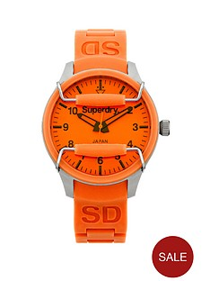 superdry-orange-dial-orange-silicone-strap-unisex-watch