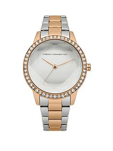 french-connection-two-tone-bracelet-ladies-watch