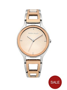 karen-millen-rose-gold-bracelet-ladies-watch
