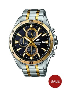 casio-edifice-two-tone-chronograph-stainless-steel-bracelet-mens-watch