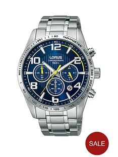 lorus-stainless-steel-bracelet-blue-face-chronograph-mens-watch
