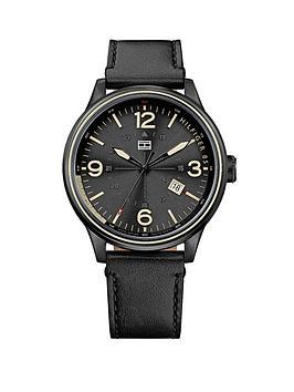tommy-hilfiger-classic-3-hand-black-dial-black-ip-bracelet-mens-watch