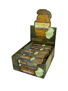 grenade-reload-coconut-chaos-protein-flapjack-12-x-70g-bars-with-free-gift