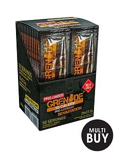 grenade-50-calibre-pre-workout-energy-boost-powder-25-x-2-serving-satchets-killa-cola