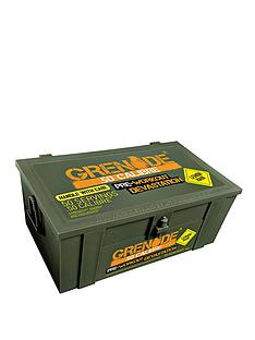 grenade-50-calibre-pre-workout-energy-boost-ammo-box-580g-lemon-raid-with-free-gift