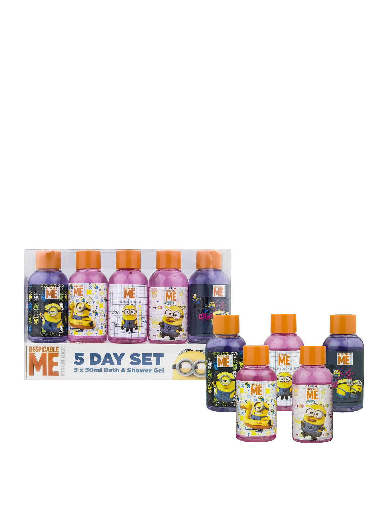5 Day Bath and Shower Gel Set