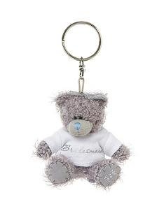 me-to-you-bridesmaid-bear-keyring