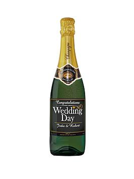 personalised-wedding-champagne