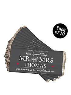 personalised-mr-mrs-chocolate-bar-pack-of-10