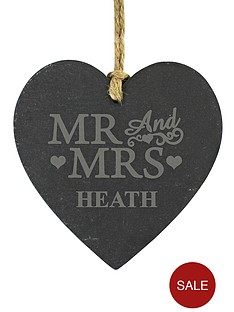 personalised-mr-mrs-slate-heart