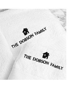 personalised-family-bath-and-hand-towel-set