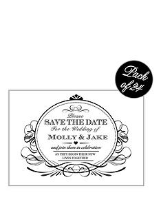 personalised-scroll-save-the-date-cards-pack-of-24