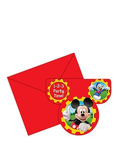 disney-mickey-mouse-birthday-party-invitations-18-pack