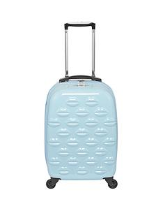 lulu-guinness-hard-sided-4-wheel-powder-blue-55cm-cabin-case