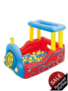 bestway-train-play-center