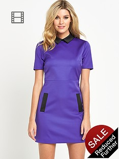 definitions-satin-collared-dress