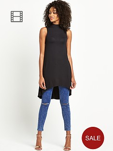 definitions-turtle-neck-dip-back-top